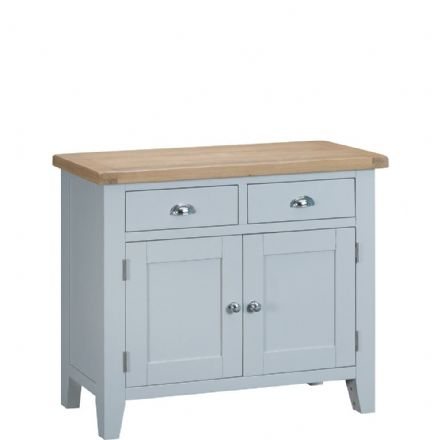 Toulouse Grey 2 Door 2 Drawer Sideboard